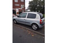 Renult Cilo Experssion, Silver 16V hatchback 02 Plate 6 months MOT tinted windows £550 ono