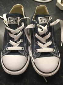 Kids Converse Blue Size 10 Unused