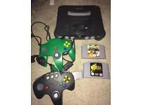 Nintendo n64 console setup