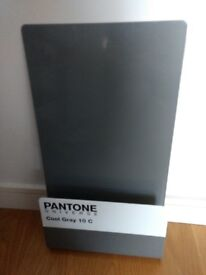 Pantone Wall store - magazine/letter rack; notice board