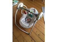 Portable Baby Swing by Comfort & Harmony