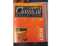 105 classical CD collection with magazines