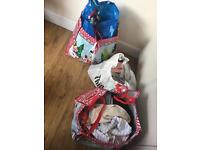 3x big bags of clothes with shoes