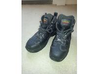 Dr Martens Industrial Steel Toe Cap Boots