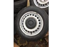VW Transporter T5/T6 Wheels with tyres