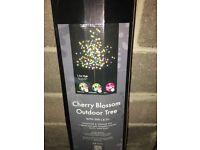 Outdoor LED multicoloured tree