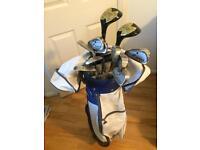 Ladies left handed golf club set