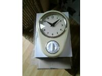 RETRO CLOCK WITH TIMER ( NEW)