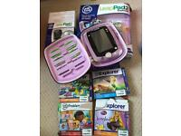 Leappad 2 Explorer Purple Tablet and extras - take a look!