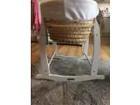 Girls Moses basket