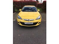 Astra GTC 2013 1.4 140BHP Turbo Petrol 10,000Miles only! Zero previous owners!