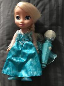 Sing along Elsa doll