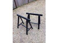 Trestle Table Legs - IKEA Trestle ODDVALD Black