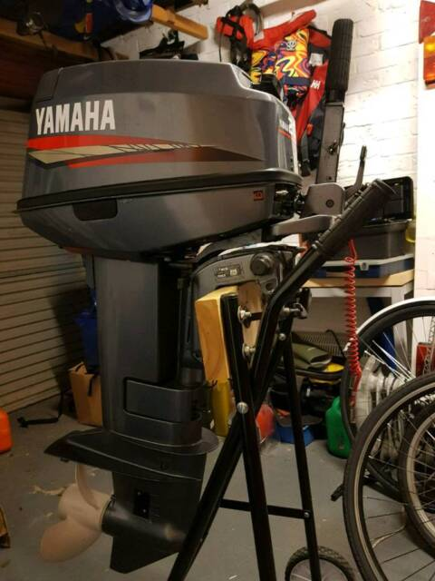 Yamaha Outboard Engine 20hp 2 Stroke Standardshaft ideal for Rib Inflatable  Boat | in Exmouth, Devon | Gumtree