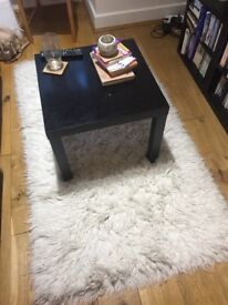Shaggy Cream Carpet