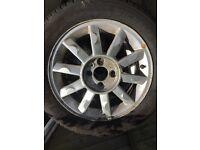 Renault modus alloy wheels