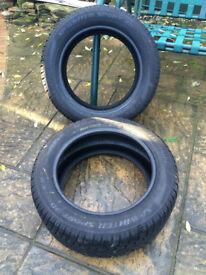 225/55 R17 Dunlop SP winter sport 3D M+S Runflat Tyres