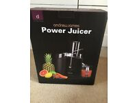 Andrew James 990 watt power juicer used only a couple of times so is in excellent condition.