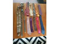 Men accesories- tie & bowtie job lot