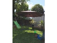 Garden parasol 3m