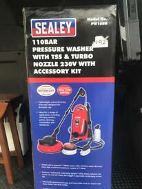 Sealey PW1600 110 bar Pressure Washer