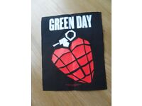 Green Day Backpatch - New and unused.