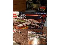 Star Wars Lego x wing starfighter.