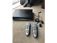 Sky HD with magic eye and 2 remotes