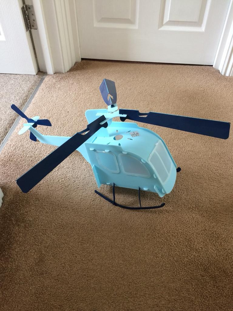 LAMPSHADE HELICOPTER