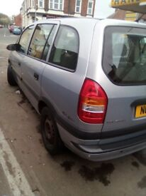 for sale vauxhall zafira 1.6 16V CLUB