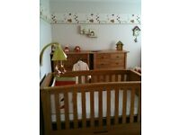 For Sale Mamas & Papas Ocean Cotbed £80