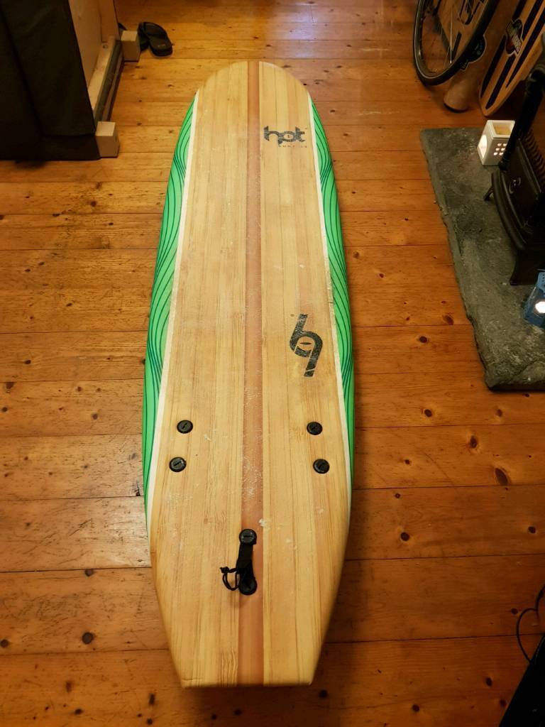 Hotsurf 69 7ft foam surfboard used only a handful of times  525371fc1