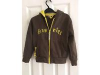 Brownies uniform hoodie jacket (7-8 years)