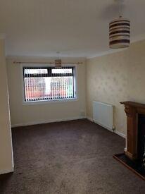 Unfurnished Semi in Catrine 2 bed + office Available now £450p.c.m
