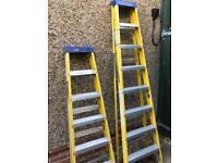 6&8 tread step ladders