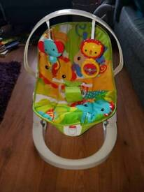 Fisher Price Foldable Baby Bouncer Chair