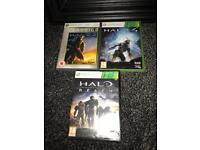 Xbox 360 HALO game bundle