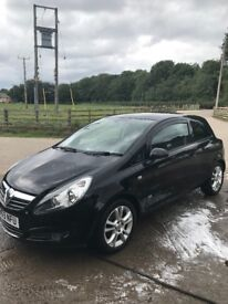 Vauxhall corsa 1.2 with years MOT