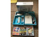 Nintendo Wii console 3 games boxed