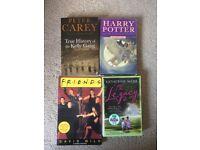 Books x 4 Friends Harry Potter Legacy Kelly Gang