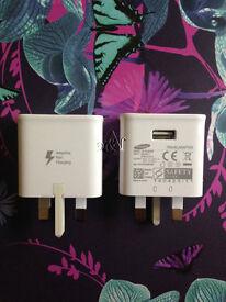 JOB LOT 50xGENUINE Samsung Galaxy S6,S7 Wall Charger Adapter Plug Adaptive Fast Charging EP-TA20UWE