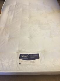 Double mattress 4ft 6 for sale