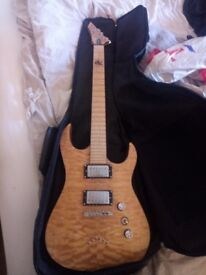 BC Rich electric guitar (Zoltan 2) signature