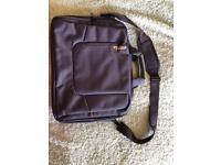 Purple laptop bag