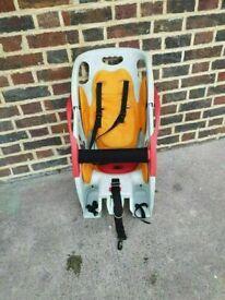 Co-Pilot Child's Bike Seat quite straightforward to use good condition