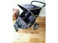 Out and about nipper 360 double buggy
