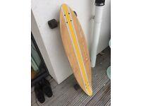 Stylish Longboard Perfekt Condition