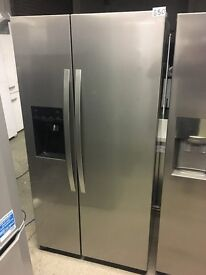 KENWOOD KSBSDIX16 American-Style Fridge Freezer - Stainless Steel
