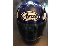 REDUCED Arai Condor medium helmet with x2 visors