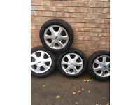 Ford ka fiesta alloy wheels 14 inch